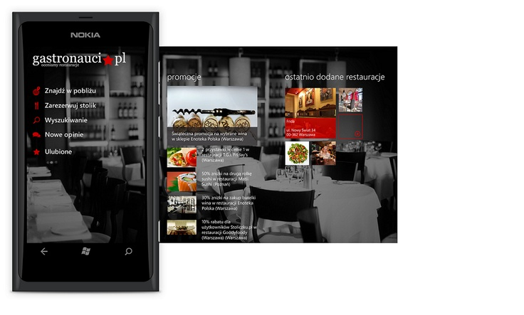 Gastronauci - new app for Windows Phone