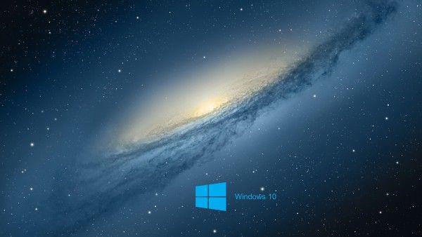 Windows 10 Desktop Background with scientific space planet galaxy stars ultrahd 4k wallpaper