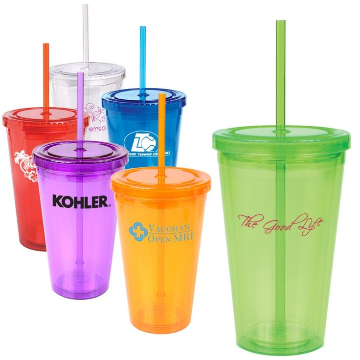 16 oz double walled tumblers