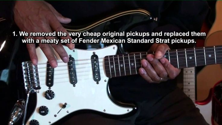 EricBlackmonMusic Guitars: The Randy Mikeal Fender Squier Strat Special ...