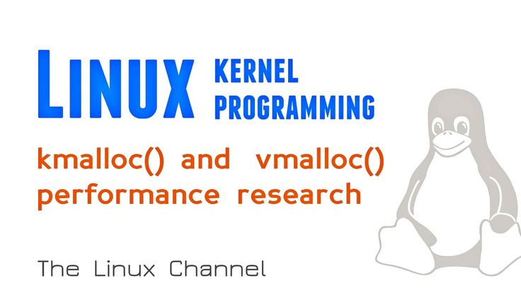 Linux Kernel - kmalloc() and vmalloc() performance research
