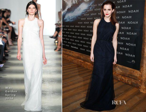 Emma Watson In Wes Gordon – 'Noah' Berlin Premiere