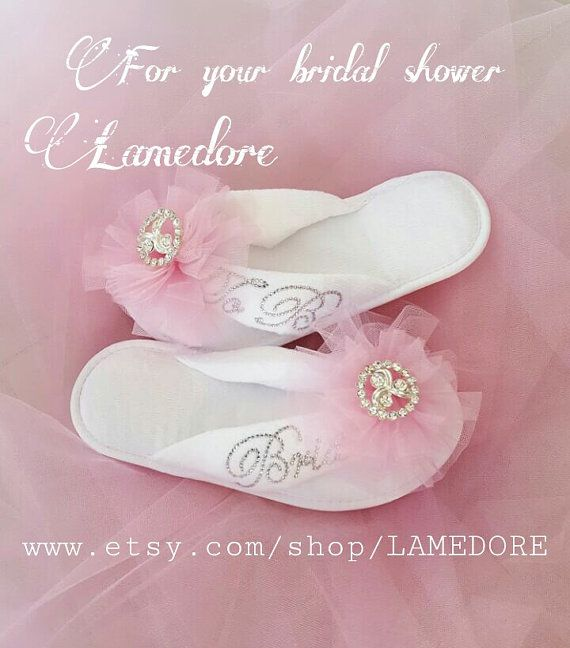 Hey, I found this really awesome Etsy listing at https://www.etsy.com/listing/400392973/brides-wedding-slippers-honeymoon