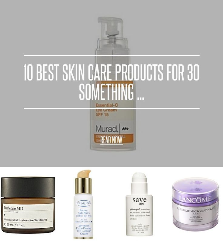 "10 Best Skin Care Products for 30 Something ... - Beauty [ more at beauty.allwomenst... ] If you're in your <a href="""">thirties</a>, chances are, you need a new skin-care regimen, one that's less focused on preventing and treating acne, and more focused on heading off wrinkles and age spots. In other words, it's time for an update! Not sure what to try or what to buy? Here'... #Beauty #Acne #Facial #Care #Treating #Skin"