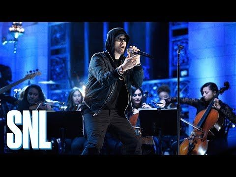Eminem: Walk on Water, Stan, Love the Way You Lie (ft. Skylar Grey) (Live) - SNL