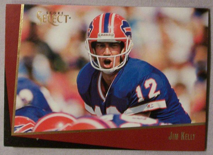 1993 Score Select Jim Kelly Buffalo Bills Football Card http://clektr.com/bIC4