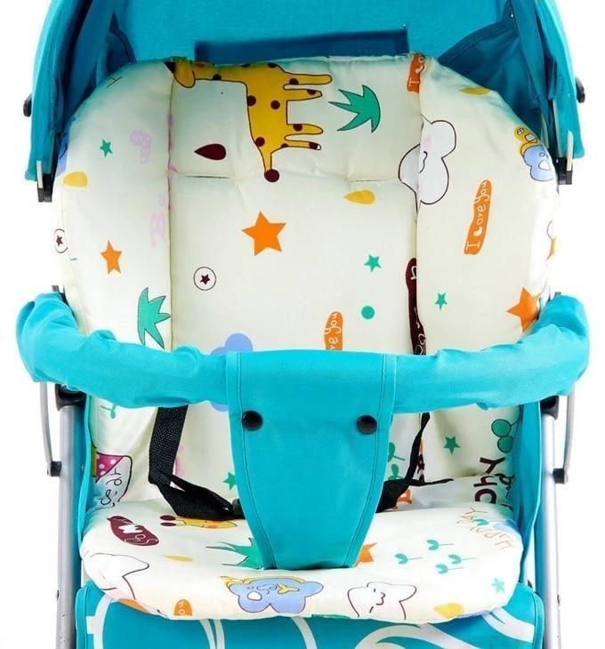 Baumwolle Kinderwagen Auto Hochstuhl Sitzkissen Kinderwagen Kissen Pad