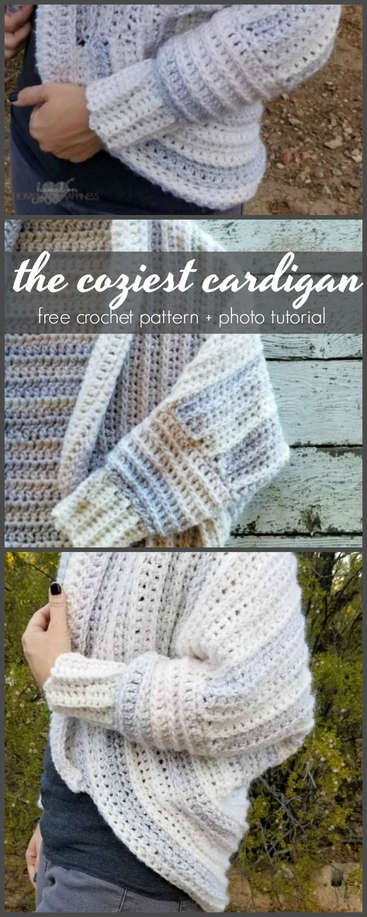 This cardigan is made from the softest, squishiest yarn and it's bound to keep you nice and cozy this winter! I didn't make this cocoon sweater quite as long as I typically do because I wanted more of a cardigan type sweater. But cocoon sweaters are highly customizable! I have this pattern written in sizes …