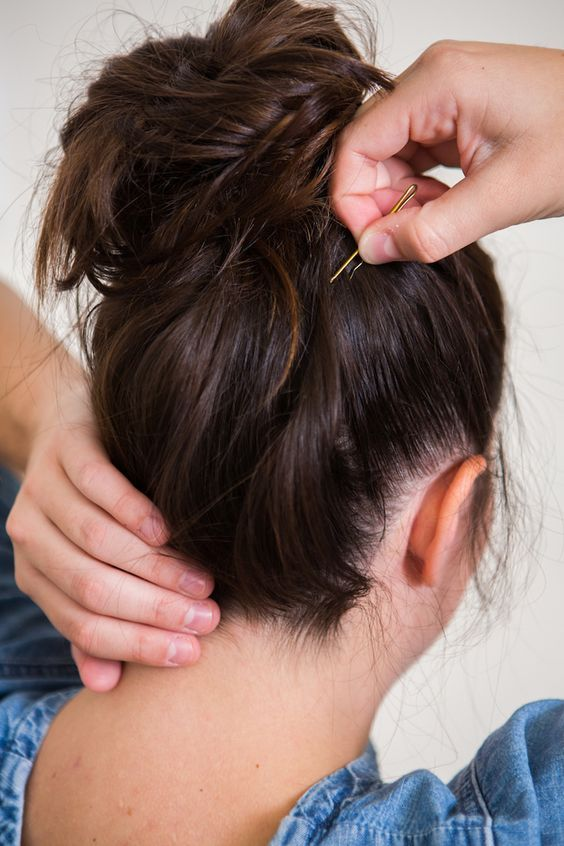 The right way to use bobby pins. (Pssst... you're doing it wrong!)