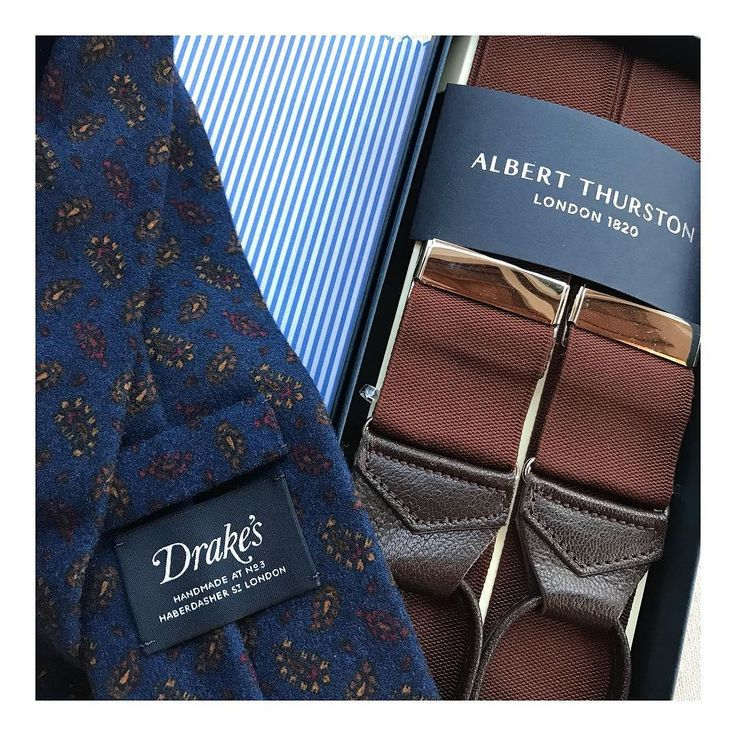 Made in England @albertthurstonofficial @drakesdiary #accessories