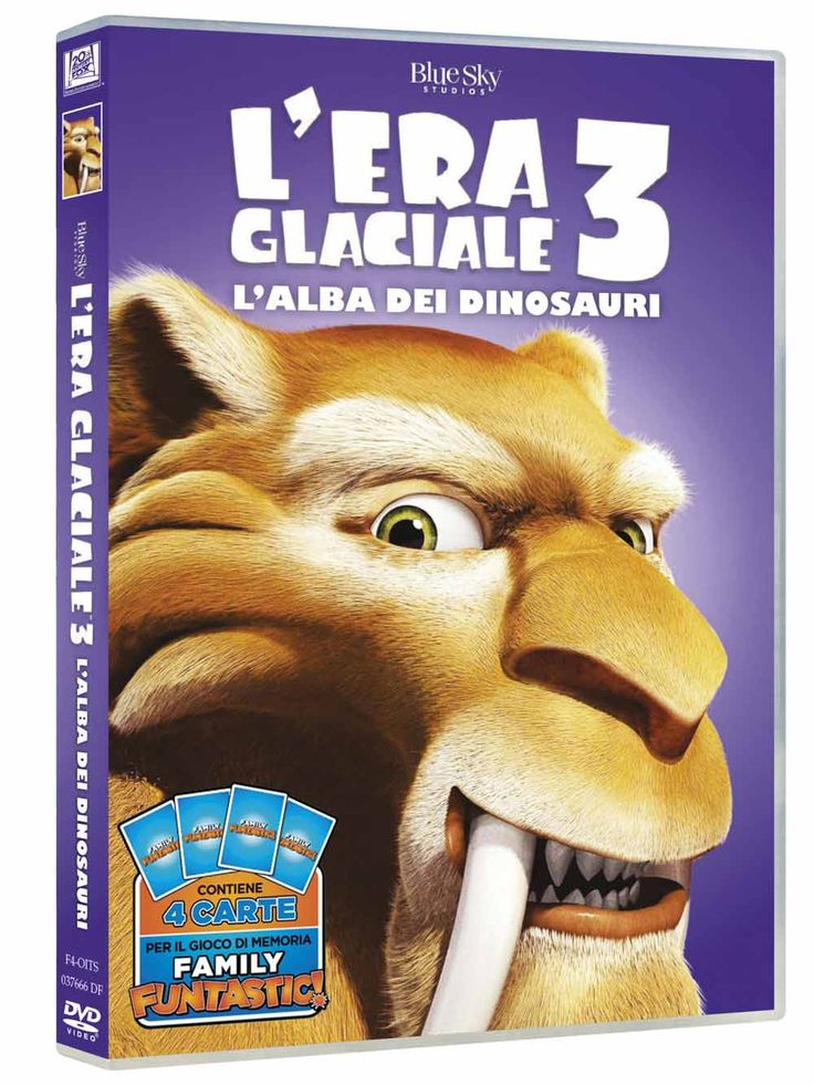 Risultati immagini per era glaciale 3 dvd