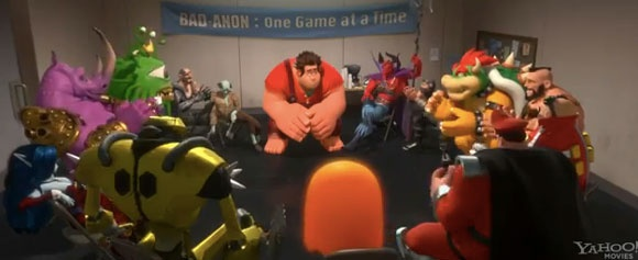 When You Love Video Game Baddies - #WreckItRalph Trailer 2