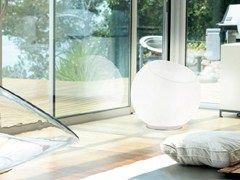 Lampada da terra in vetro soffiato BONBON   Lampada da terra - PANZERI