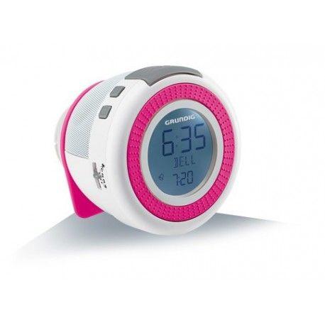 Prezzi e Sconti: #Grundig sonoclock 220 orologio rosa bianco Grundig  ad Euro 28.47 in #Grundig #Home audio video lettori mp3