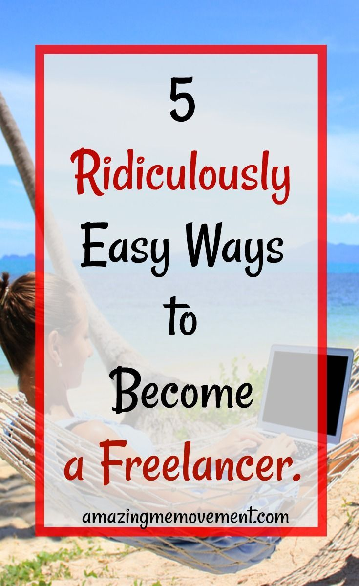 #freelancewriting #successtips #entrepreneur #goalsetting So you want to be a freelancer? It's a lot easier than you think.  via @Iva Ursano|Amazing Me Movement