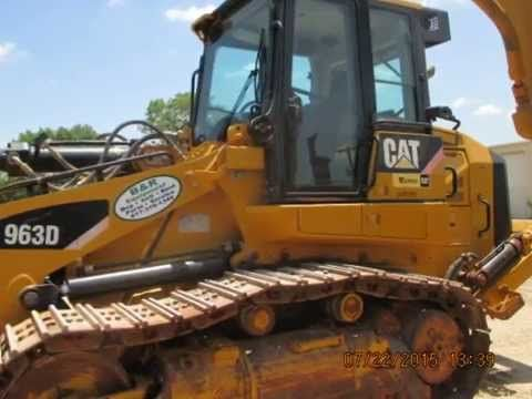 http://www.brequipmentco.com Caterpillar 963D Crawler Track Loader for Rent or Sale at B&R Equipment.  Call us for all the heavy equipment rental  needs.  817-379-1340 #caterpillar #cat963d #cat963 #trackloader #crawler #loader #cat963