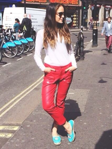 Anna Rosa Vitiello from Harper's Bazaar UK spotted in the Eco-wool sweater