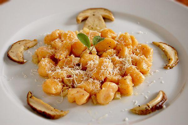 pumpkin gnocchi | Food Art | Pinterest