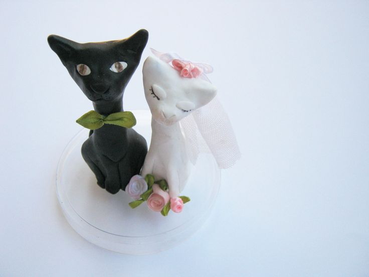 Wedding cake decoration (from Fimo clay)