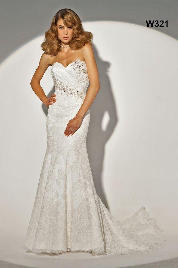 Alexia Designs W321 - Lace gown - Sugar and Spice - Lincoln