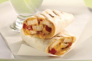 Grilled Chicken Wraps Recipe - Kraft Recipes