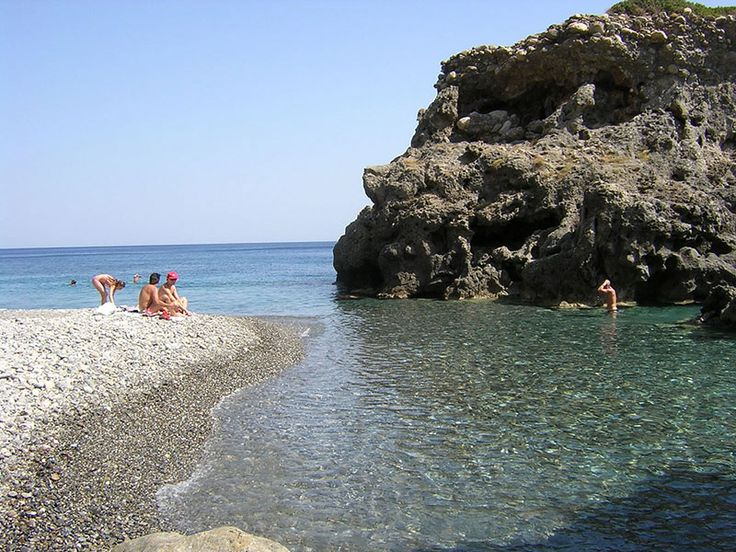 The small beach in Sougia
