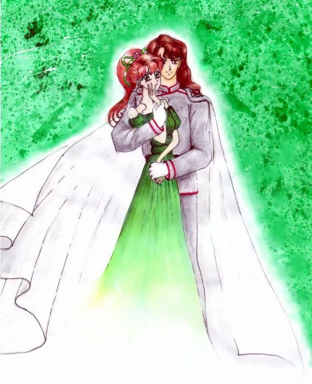 Sailor Jupiter And Nephrite Nephrite And Sailor Ju...