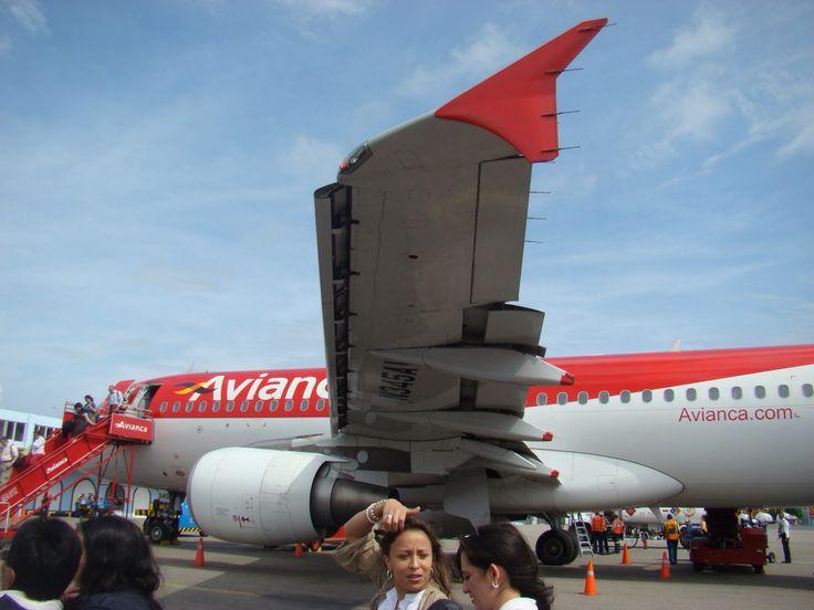 Avianca A320 at Santa Marta airport