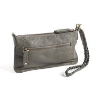 FIE Dark Grey  Cute and handy small clutch in strong PU leather, includes a pocket for coins and a cardholder and leaves room for your phone or keys as well.