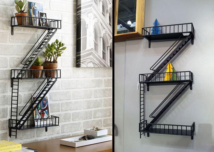 """étagère métallique """"Urban Fire Escape Shelf"""" - Loft - Les Esthètes"""
