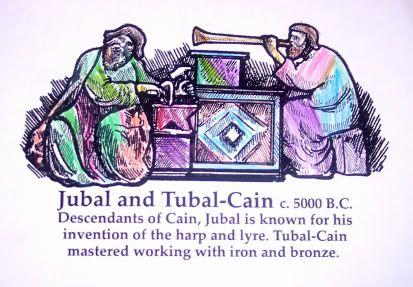 Jubal Amp Tubal Cain C 5000 B C The Color Of History