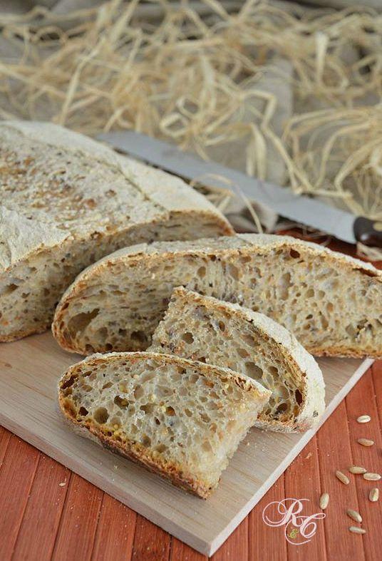 Pane ai cereali con lievito madre  http://blog.giallozafferano.it/rafanoecannella/pane-ai-cereali-con-lievito-madre/