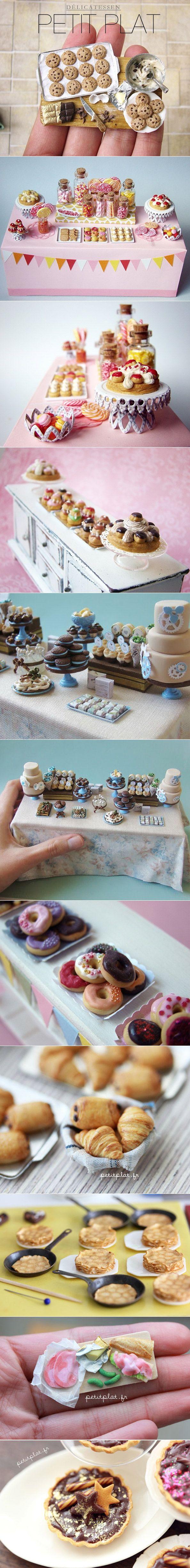 Dulces miniaturas