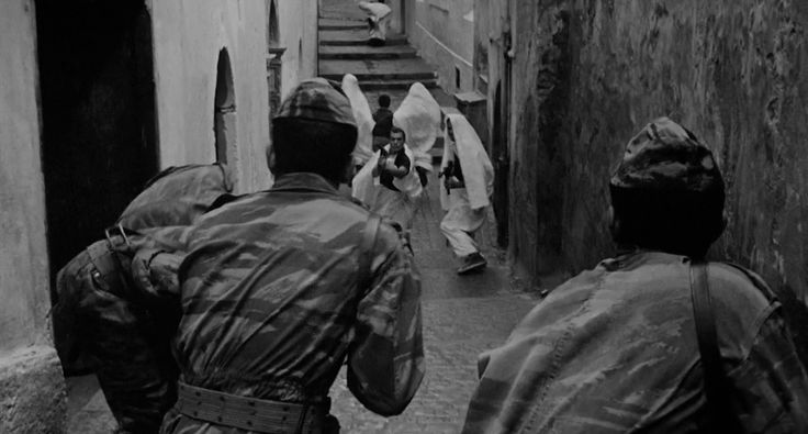 Still from The Battle of Algiers