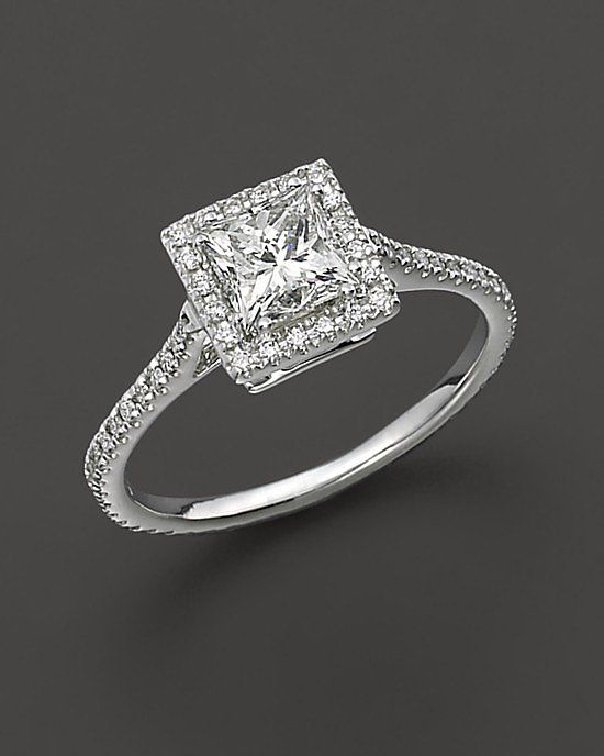 Your Style: Your sophistication is undeniable. You appreciate fine craftsmanship and tradition, so there's no doubt you'll want to wear the most perfect diamond stunner on your ring finger. Once it's yours, you'll never take it off and you'll always make sure it's polished. The Ring: Bloomingdale's Princess Cut Diamond Engagement Ring ($8,750)