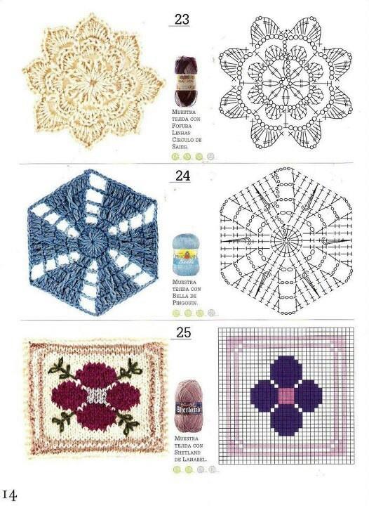 Mejores 127 imágenes de Crochet en Pinterest   Patrones de ganchillo ...