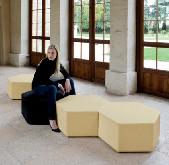 Contemporary Home Furnishings Design Esa Pouf by B-Line Italy « Contemporary « Style « DesignWagen