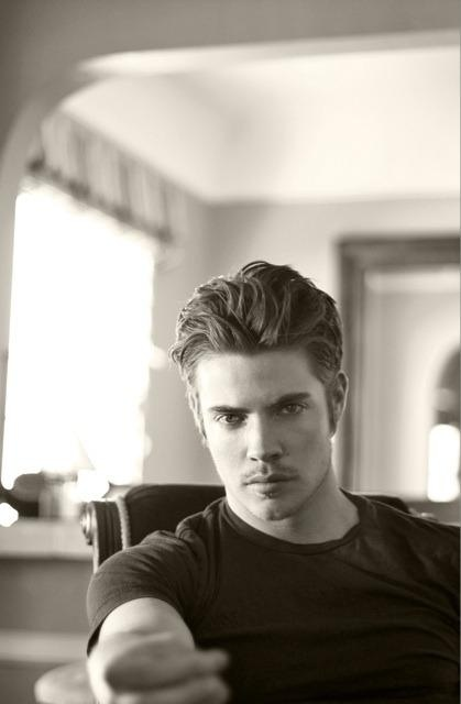 Josh Henderson - His heterochromia (one blue, one green) eyes, plus his singing will be the death of me