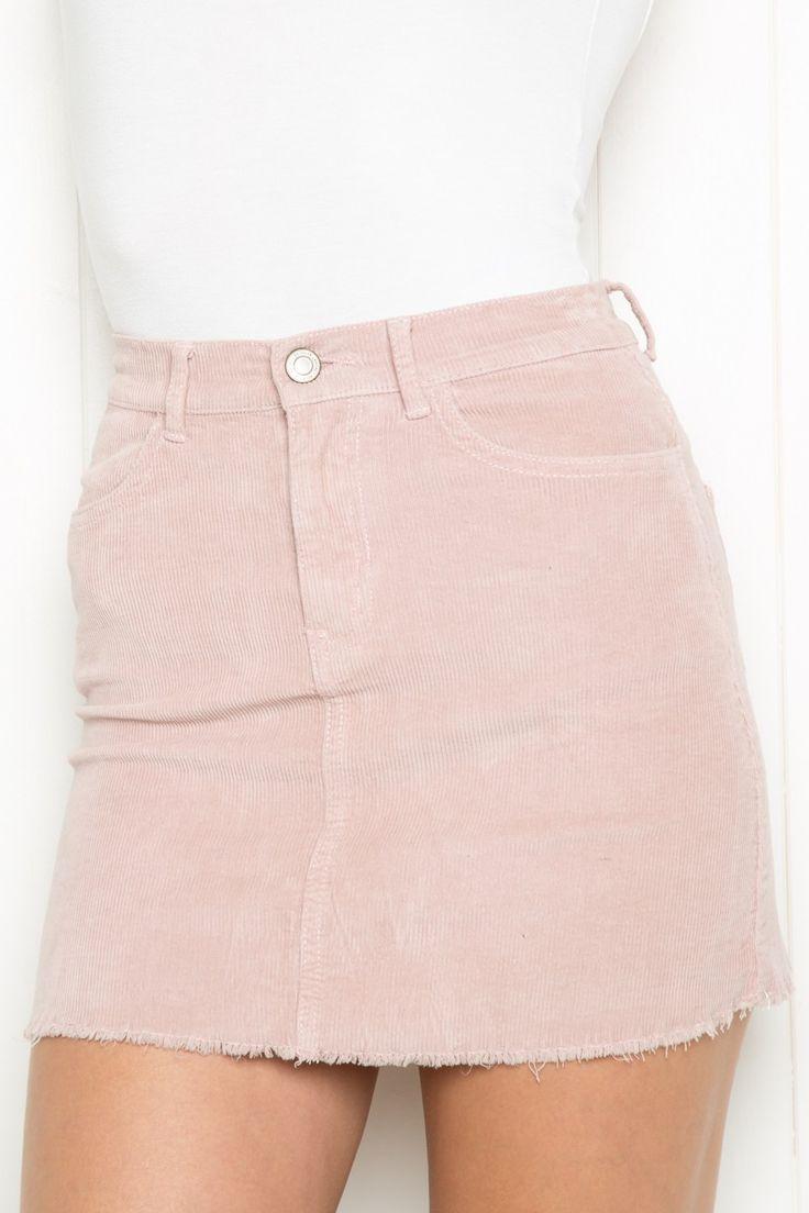 $28 | Brandy ♥ Melville | Juliette Corduroy Skirt - Bottoms - Clothing