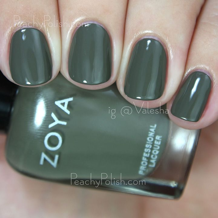 army green fall nail color  ~ we ❤ this! moncheriprom.com