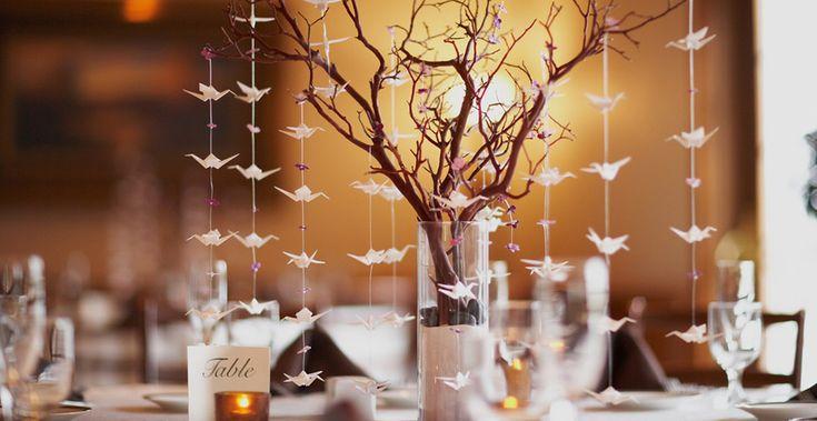 Decoração de casamento mesa.