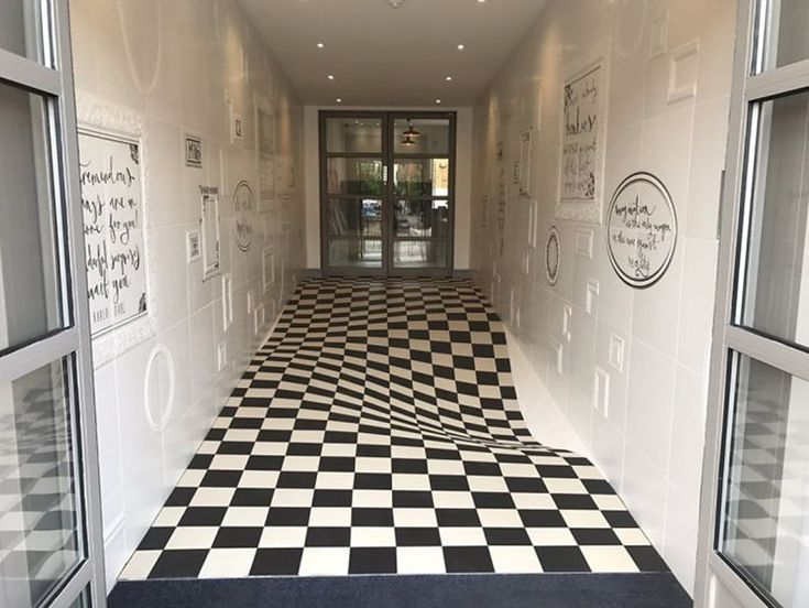 An Optical Illusion Tile System Designed by Casa Ceramica