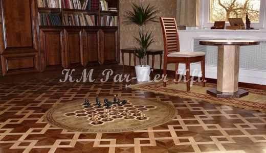 Wood inlay flor, parkett, parketta