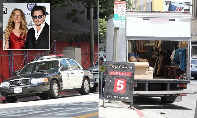 Amber Heard calls police on ex Johnny Depp over restraining order
