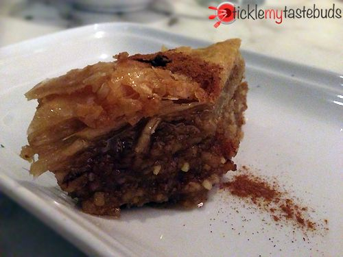 Baklava from Yiannena