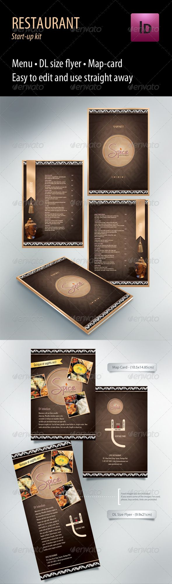 High Quality Restaurant Start-up Kit PSD Template • Only available here ➝ http://graphicriver.net/item/restaurant-startup-kit/666929?ref=pxcr