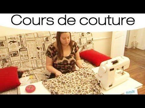 Technique de couture Jalie - Coudre des tissus extensibles sans surjeteuse - YouTube