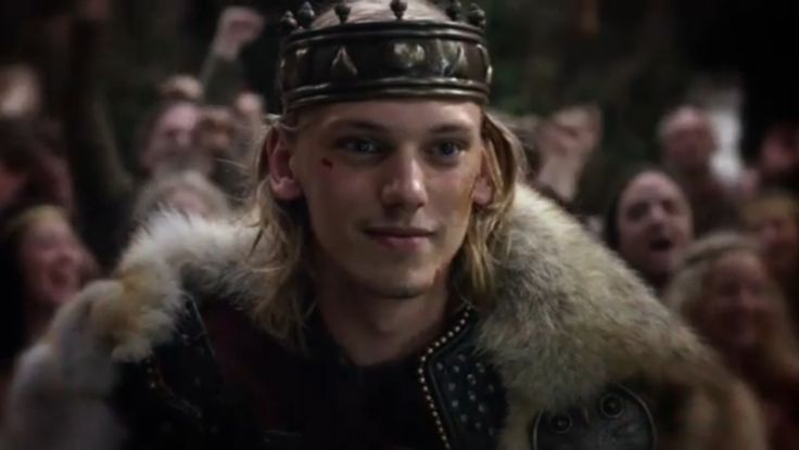 Jamie Campbell Bower as King Arthur in the TV Series Camelot