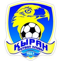 FK Kyran Shymkent - Kazakhstan - ФК Қыран Шымкент - Club Profile, Club History, Club Badge, Results, Fixtures, Historical Logos, Statistics