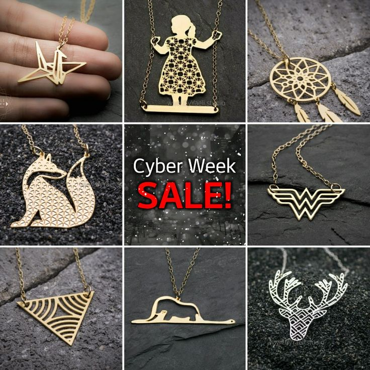 Cyber week SALE! Get ready for the holiday on time with great value jewelry prices! @byyaeli store on #Etsy www.byyaeli.Etsy.com  #cyberweek #ByYaeli #blackfriday #cybermondaysale #cybermonday #jewelrysale #giftsale #etsysale #holidaysale